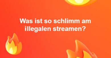 Was ist so schlimm am illegalen streamen?
