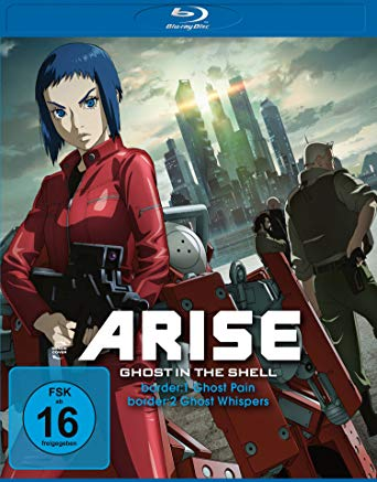 Angekündigt: Ghost in the Shell – ARISE – Komplettbox