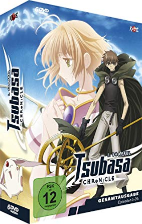 Angekündigt: Tsubasa: Reservoir Chronicle Staffel 1 & 2 als Gesamtausgabe auf DVD und Blu-ray