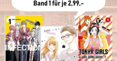 Egmont Manga: Drei E-Mangas um 50% reduziert