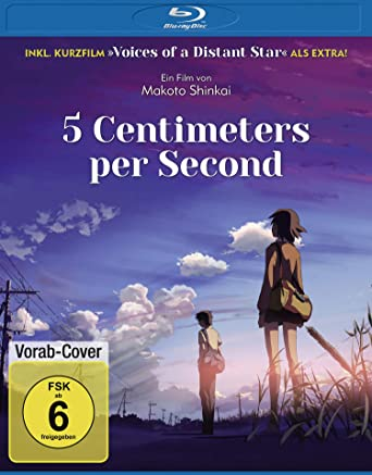 Voices of a Distant Star als Extra bei 5 Centimeters Per Second