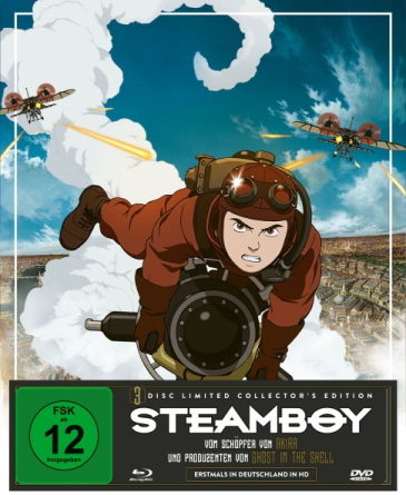 Neuer Termin: Steamboy – Limited Collector's Edtion